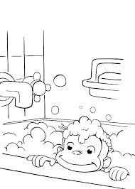 Curious George Free Coloring Pages Free Curious Coloring Pages Free