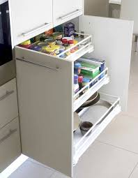 Great Pull Outs Kitchen Drawers For Organizing Kitchen Utensils Storage  With White Panels ...