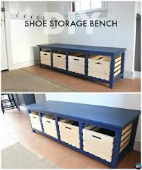 diy wood crate shoe storage bench instructions 20 best entryway bench diy ideas projects