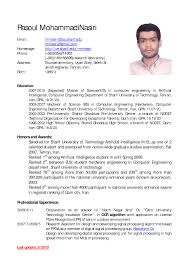 Example Of Resume In English Example Of Resume In English Savebtsaco 4