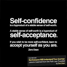 Self Acceptance Quotes Stunning Self Confidence Quotes Happy Shappy