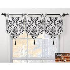 valance arbor ivory black banner valances set of quick and easy no sew window valance diffe and unique ways to decorate bathroom 6 trends in window