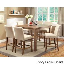 Enjoy Rustic Appeal With A Modern Twist This Compact Dining Set