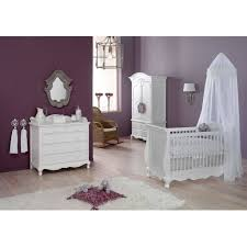 elegant baby furniture. Elegant White French Baby Crib Furniture Set With Canopy Plus Dresser Wall Mirror And Wardrobe Rattan Wicker Rocking Chair H