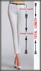 Size Chart For Women Trousers Standard Measurements Usha