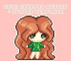 Pixel Character Template Pixel Sprite Template Pixel Character Template Danganronpa
