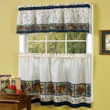 kitchen window valance or kitchen window curtains with fruit curtains for kitchen curtains