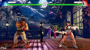 digital foundry street fighter 5 ps4 vs pc max graphics