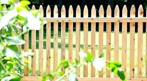 wood picket fence panels. Simple Panels Wooden Picket Fence On Wood Picket Fence Panels G