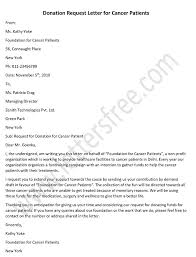 sle donation request letter for
