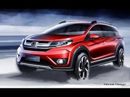 new car releases and previewsNew Cars Release In 2016 New Honda Br V Sketches Released India