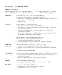 How To Write An Entry Level Resume Enchanting Entry Level Resume Template Free Supergraficaco