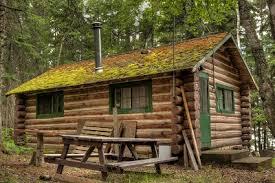Hardy log cabin