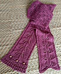 Free Scarf Patterns Enchanting Free Lace Knit Scarf Pattern Skinny Leaves This Man Knits