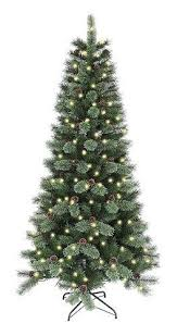 Fraser Hill Farm 9 Ft Unlit Southern Peace Pine Artificial Artificial Christmas Tree 9ft
