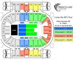 Pensacola Bay Center Seating Chart Pensacola Bay Center Seating Chart Pensacola Bay Center
