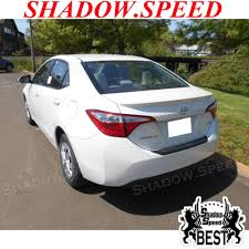 2014-2016 Painted For US Toyota Corolla Sedan OE Style Rear Trunk ...