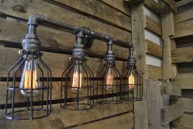 industrial bathroom vanity lighting.  Industrial Image Of Industrial Bathroom Vanity Lighting Style Inside T
