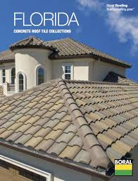 b roofing introduces florida concrete roof tile collections brochure