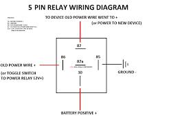 5 wire relay diagram 5 wire relay general diagram \u2022 free wiring horn relay wiring diagram at Relay Wiring Diagram 87a