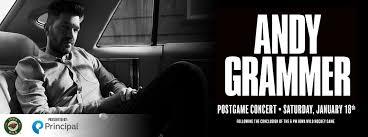 Iowa Wild Announces Andy Grammer As Post Game Concert Iowa