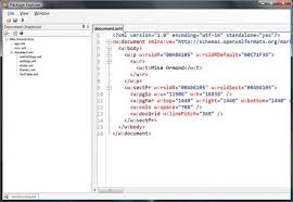 Viewing Xml File Programming Office Documents With Open Xml Xml Tutorial