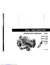 deutz allis 1920 manuals Deutz Allis 1920 Wiring Diagram deutz allis 1920 operator's manual Snow Thrower Deutz-Allis 1920