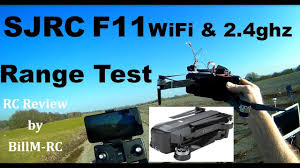 SJRC <b>F11</b> 5G WiFi & <b>2.4ghz</b> Range Test - YouTube