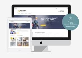 free html5 web template 10 free bootstrap construction company website templates 2018