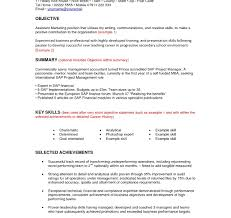 Social Work Resume Skills Career Objective For Bank Job Resume Office Civil Engineer 89