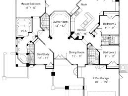 one level house plans with two master suites single story house plans with 2 master suites