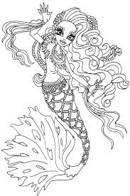 Small Picture Coloring Pages Monster High Coloring Pages Sirena Von Boo Google