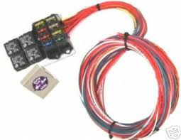 8 circuit wiring harness wiring diagram cnch 8 circuit universal wiring harness for rat rod or hot