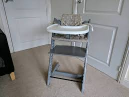 storm grey stokke tripp trapp high chair in newcastle under lyme staffordshire gumtree