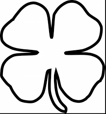 Small Picture Impressive Small Four Leaf Clover Coloring Pages With At Within 4