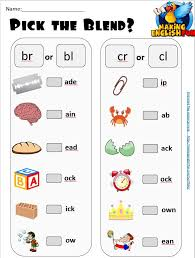 Live worksheets worksheets that listen. Pick The Consonant Digraphs And Blends Worksheets Editable Making English Fun