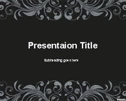 Dark Classic Powerpoint Template