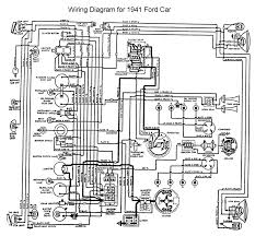 flathead electrical wiring diagrams wiring for 1941 ford car