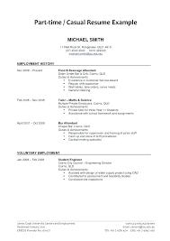 Student Job Resume Sample Resume Examples First Job High School