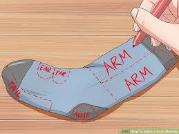 image titled make a sock monkey step 10
