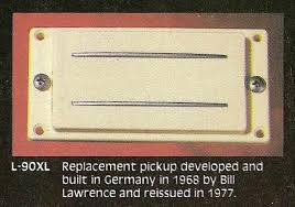 can anyone tell me about bill lawrence l90 s aparently joe perry used l90 in the early days of aerosmith