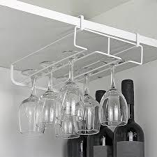 photo stainless steel fresh bar champagne wine glasses holder rack wall hanging oc