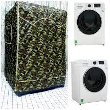 Vải dù xịn không nổ vỏ] Áo Trùm Máy Giặt Cửa Trước dành cho Máy giặt  Samsung Addwash Inverter 10 Kg