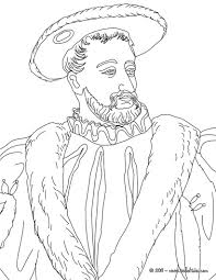 Francis I King Of France Coloring