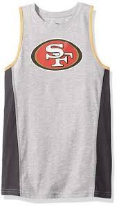 Outerstuff Nfl San Francisco 49ers Youth Boys Fan Gear Tank Size M 5 6