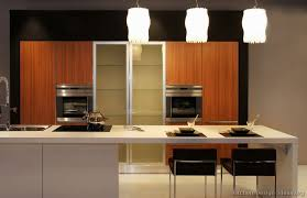 #Kitchen of the Day: Asian kitchen design, exotic wood cabinets, unique  pendant