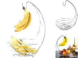 fruit bowl with banana hanger fruit basket with banana hook chrome banana hanger tree holder fruit fruit bowl with banana hanger