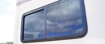 motorhome dual pane sliding window