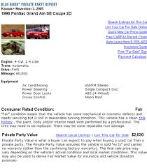 Using Kelley Blue Book Online Vehicle Condition Kelley