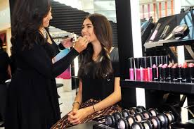 you can make an appointment to get your makeup done in m a c has a nonprofit organization fund which supports women men and children affected by